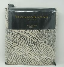 Donna Karan Home Modern Pulse Collection Duvet Comforter Cover FULL / QUEEN Buff