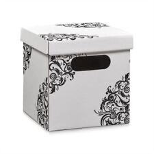 aufbewahrungsboxen f r den wohnbereich mit griff aus karton g nstig kaufen ebay. Black Bedroom Furniture Sets. Home Design Ideas