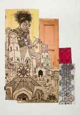 """Swoon """"NeeNee"""" Print Limited Edition Sold Out art like Faile Obey Giant"""