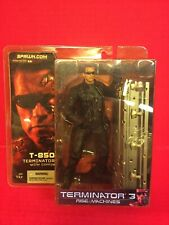 Terminator 3 ROTM T-850 With Coffin McFarlane Toys 2003 NIP