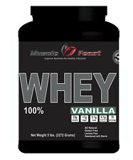 100% Whey Protein Vanilla 5lbs - All Natural