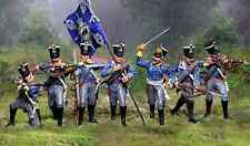 COLLECTORS SHOWCASE NAPOLEONIC BRITISH PRUSSIAN INFANTRY SET MIB