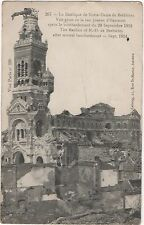 POSTCARD  MILITARY  WWI  Brebieres after bombing