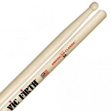 Vic Firth 1-Pair American Classic 3A Wood Tip Hickory Drumsticks *