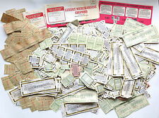 OBSOLETE LOT CHESTERFIELD, RALEIGH CIGARETTE COUPONS ~ WELL OVER. 800 COUPONS