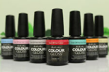 PICK 6 Artistic Nail Design Colour Gloss Kit Soak Off Led Gel Polish Set 0.5 oz