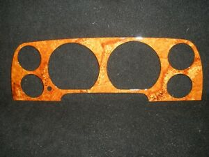 NEW JAGUAR XJS INSTRUMENT CLUSTER WOODWORK.  JAGUAR XJS  INSTRUMENT GAUGES.