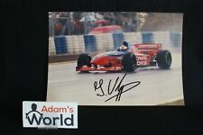 Photo Arrows / Footwork Hart FA16 1996 #17 Jos Verstappen (NED) signed (MM1)