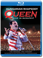Queen Hungarian Rhapsody Live In Budapest Blu-Ray