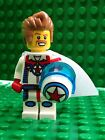 Lego Daredevil Dare Devil Driver Minifigures Helmet Cape City Town 8831 Series 7