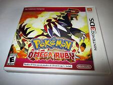 Pokemon Omega Ruby (Nintendo 3DS) XL 2DS Game w/Case & Insert