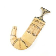 YEMEN JAMBIYA Curved Knife DAGGER ORIGINAL Arabic Islamic Yemenite Handmade