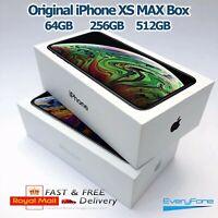 Original iPhone XS MAX empty box only 64GB 256GB 512GB