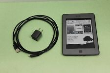 Amazon Kindle Touch (4th Gen) 4GB, Wi-Fi only,  w/accessories