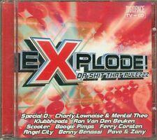 Explode! Da Shit That Rulezzz - Scooter/Blank & Jones Feat. Robert Smith Cd Ex