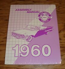 1960 Chevrolet Assembly Manual 60 Chevy