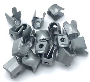 LEGO 20 NEW FLAT SILVER MINIFIGURE ARMOR BREASTPLATE WITH LEG PROTECTION