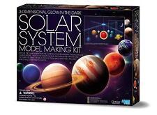 Solar System Mobile Making Kit Sonnensystems Planeten Leuchtfarben Bastelset!520