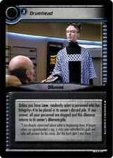 Star Trek 2E: Drumhead [Moderately Played] 2nd Edition Premiere STCCG Decipher 2