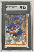 2019 Topps Pete Alonso Rookie Card Variation RC #475 Graded SGC 9.5 - PSA Mets