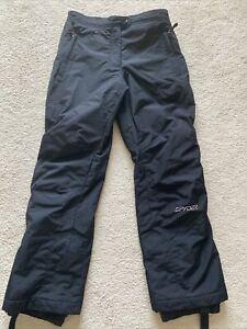 SPYDER Women's Black Thinsulate Insulation Snow Ski Snowboard Pants Size: 10
