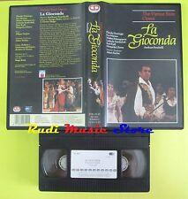 VHS LA GIOCONDA amilcare ponchielli DOMINGO MARTON FISCHER CD no mc cd dvd (cl1)