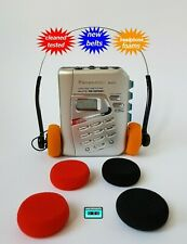 Walkman cassette radio player  NEW BELTS CLEANED WORKING & TESTED!
