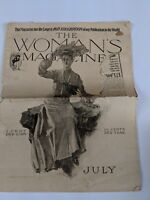 Antique The Woman's Magazine July 1903 Illustrated Fiction, Fashion, Great Ads