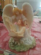 "Seraphim Classics Angel Figurine By Roman ""Thy Will Be Done"" 2000 #84287"