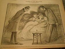 Paris à la Bougie priver d'un somptueux éclairage électrique Print Art Déco 1907