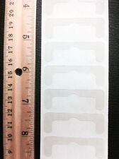 12 PACK (10 + 2 FREE) EZ VERTICAL BLIND TRANSPARENT REPAIR SLAT REPLACEMENT TABS