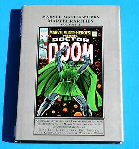 MARVEL MASTERWORKS RARITIES 1 * Watcher Dr Doom Ka-Zar Tales * MMMS Marvelmania