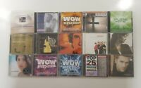 Christian Music 15 CD Lot Untested As Is SEE DESCRIPTION FOR TITLES
