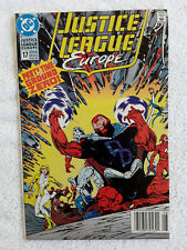 Justice League Europe #17 (DC, August 1990) Newsstand VF