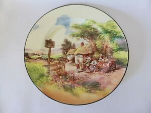 Royal Doulton Rustic England Dinner Plate, D5694, Display Plate, Cabinet Plate