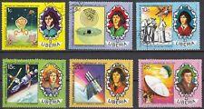 Liberia 896 - 901 gestempelt 500. Geburtstag von Nikolaus Kopernikus