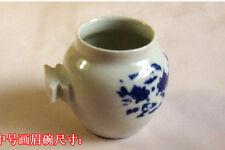 4 pieces/lot Pet birds Blue & White Porcelain Bowl Parrot Water Box Feeder