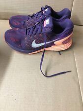 Nike Women's Size 10.5 Lunarglide 7 Purple Orchid Running Shoe 747356-500