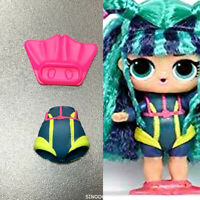 Original Dress clothes outfit  For LOL Surprise SCUBA BABE Series hairvibes Doll