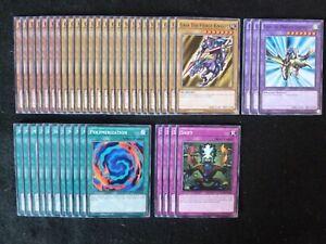 YU-GI-OH 43 CARD GAIA THE DRAGON CHAMPION DECK  *READY TO PLAY*