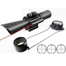 JGBG Accurate M8 3.5-10X40 Opticle Rifle Scope Gun Scopes With Laser Cross Hair
