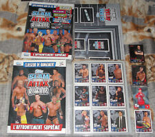 Slam Attax WWE Rumble complete set 223 Cards + all 3 LE cards + 1 auto card