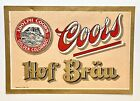 Vintage Pre-Pro Coors Hof Brau Beer Label Adolph Coors Golden CO
