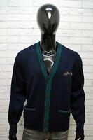 Maglione Uomo Paul & Shark Taglia L Comoda Felpa Sweater Cardigan Pullover Lana
