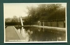 WIVELISCOMBE,SWIMMING POOL,vintage postcard