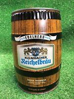Rare 10 Inch Vintage Kulmbacher Reichelbrau 5 Liter Mini Keg German Pilsner
