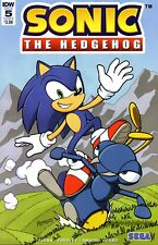 Sonic The Hedgehog Comic 5 Peppers Cover B IDW 2018 Flynn Yardley Amash Herms