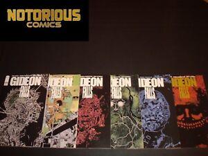 Gideon Falls 1 2 3 4 5 6 Complete Image Comic Lot Run Set Lemire Collection