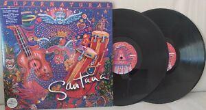 LP SANTANA SUPERNATURAL DOUBLE DISC