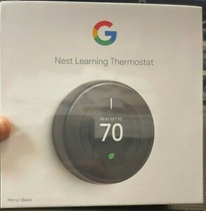 GOOGLE NEST LEARNING THERMOSTAT 3RD GENERATION *NEW*